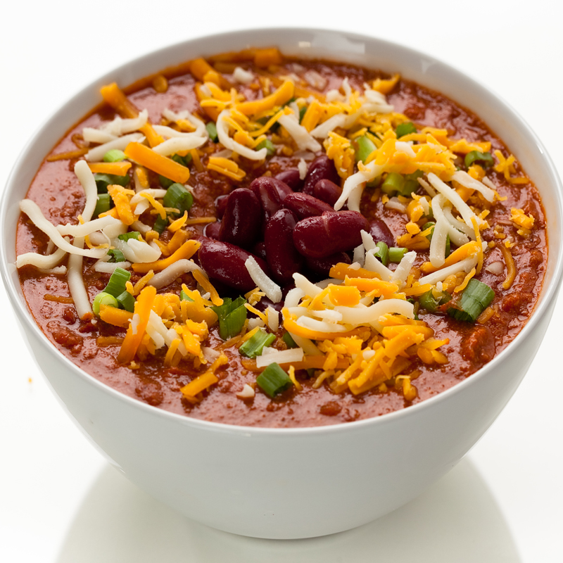 home delivered menu bean chili