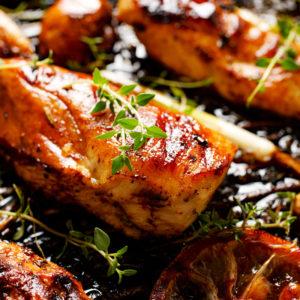 home delivered meals - pork loin