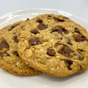 Big PB Reese's Choc Chip Cookies