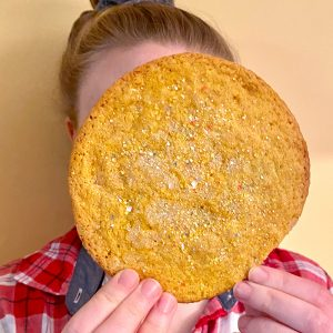 Big as My Face Lemon Sugar Cookies