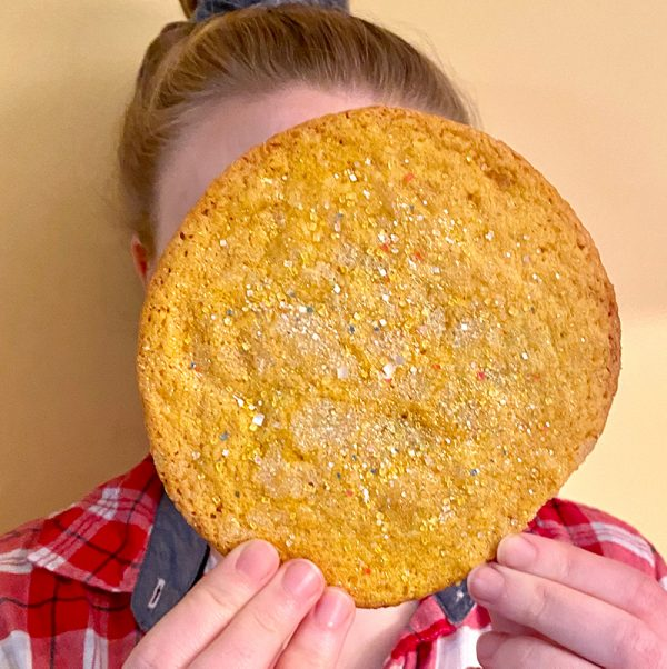 Big as My Face Lemon Sugar Cookies