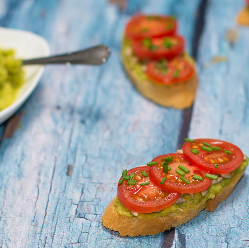 Catherine's Catering picnic menu - open face sandwiches